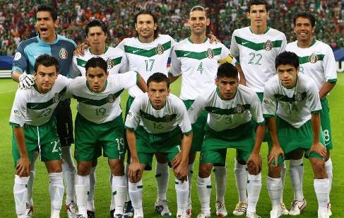 墨西哥国家男子足球队图片