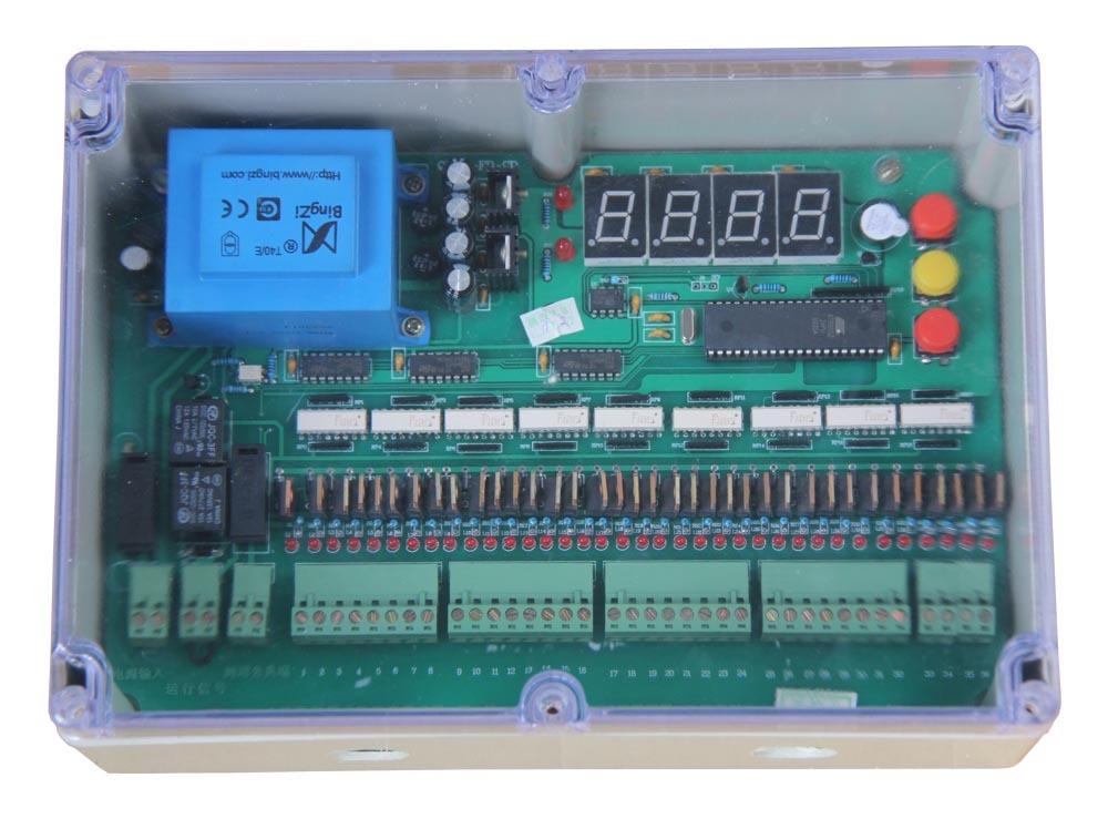 既可以减少脉冲阀,提升阀布线,又可以通过控制仪的手动按钮实现检修后