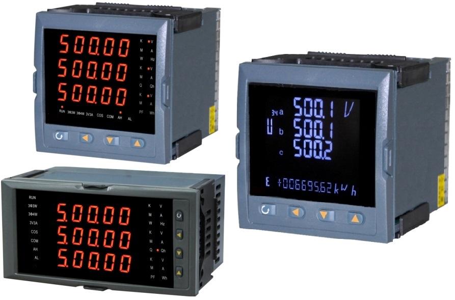 三相电压表是测量三相电中的电压参数,一般用在高压配电柜和低压柜中