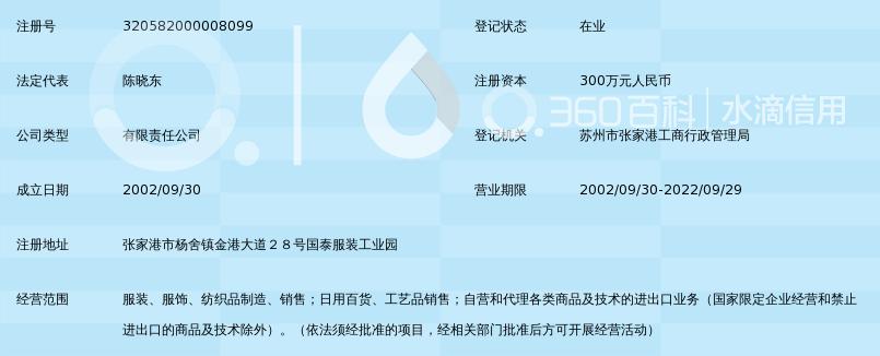 江苏国泰国际集团波迪曼服饰有限公司_360百