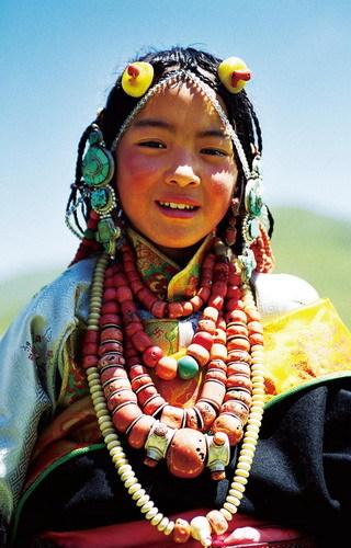 藏族手工制作贴画