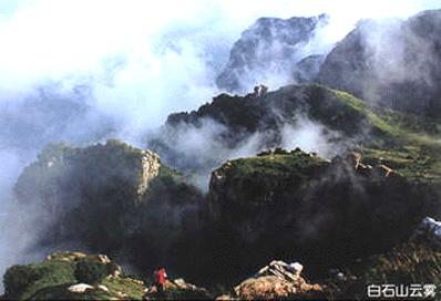 龙首山手绘风景路线图