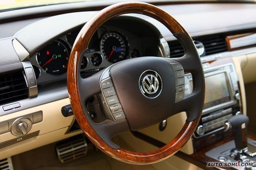 辉腾具有超豪华车的感觉,它所带来是全球最佳的汽车空调系统和豪华