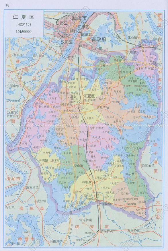 武汉第二国际机场选址!江夏,蔡甸,汉南……你更好看哪个?图片