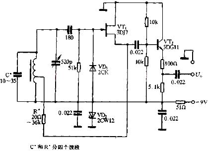 rc振荡器的工作频率较低