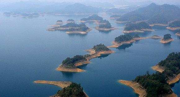 处生态旅游景点,位于千岛湖风光秀丽的东南湖区边缘