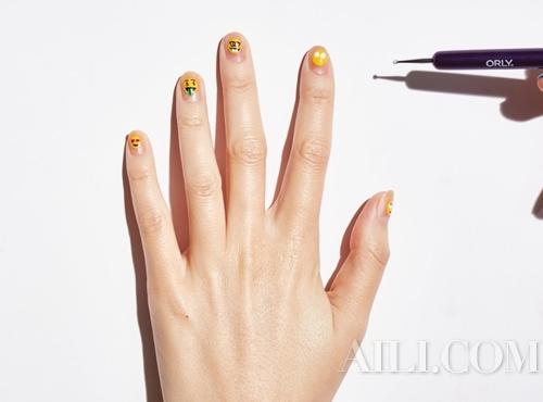 画可爱指甲 图片