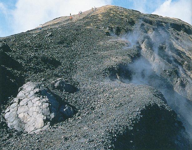 火山结构图 英文
