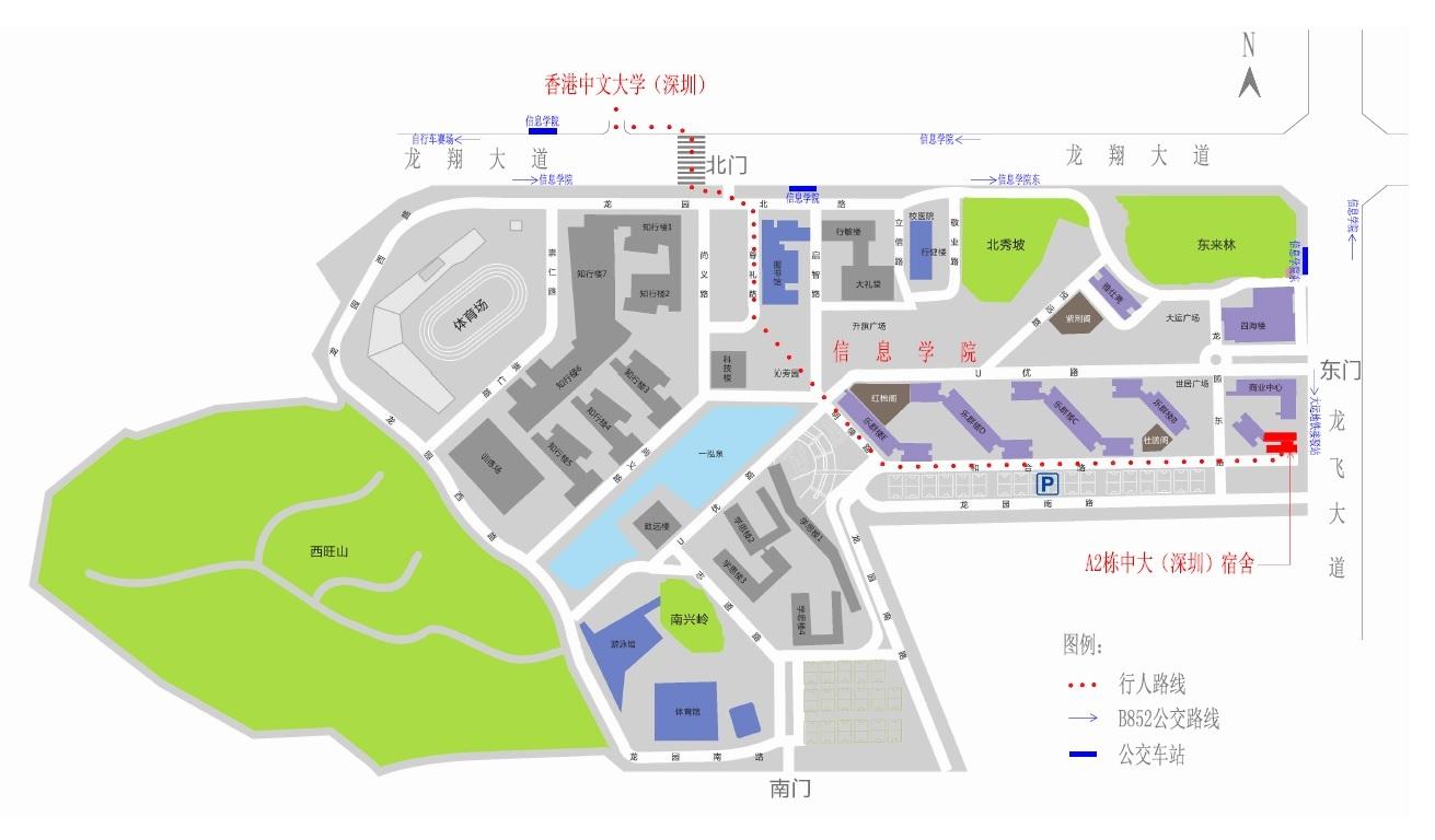 校园平面图