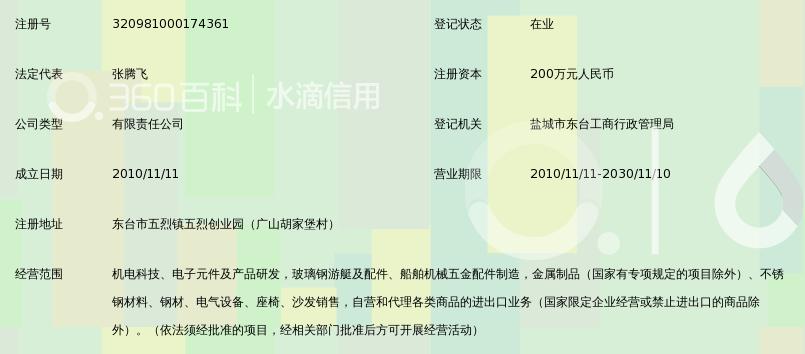 东台市水洲机电科技有限公司_360百科